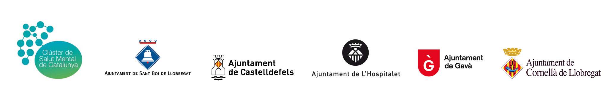 F. O. INSTITUCIONS COLLABORADORES logos
